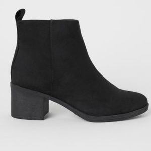 H & M Divided Ankle Booties
